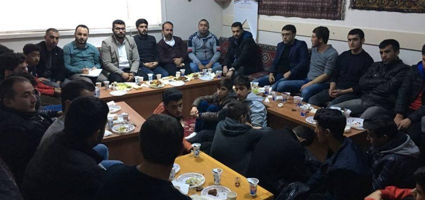 Türkiye Gençlik Vakfı (TÜGVA) İl Yönetimi olarak, Mucur'da gençlerle buluştuk.
