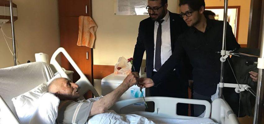 Türkiye Gençlik Vakfı (TÜGVA) Kırşehir Şubesinden Hasta Ziyareti