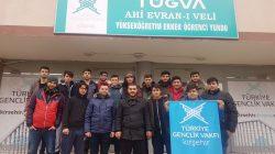 TÜGVA Ahi Evran-ı Veli Yükseköğretim Erkek Öğrenci Yurdunda Lise Öğrencilerimize Yönelik Yarıyıl Kampı Düzenlendi.